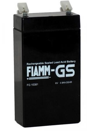 Аккумуляторная батарея 6В 3,8 Ач FIAMM FG series