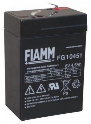 Аккумуляторная батарея 6В 4,5 Ач FIAMM FG series
