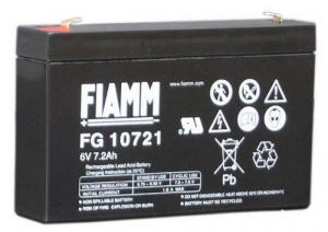 Аккумуляторная батарея 6В 7,2 Ач FIAMM FG series