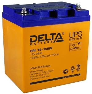 Аккумуляторная батарея Delta HRL 12-155 W