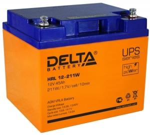 Аккумуляторная батарея Delta HRL 12-211 W