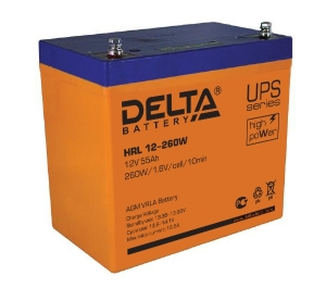 Аккумуляторная батарея Delta HRL 12-260 W