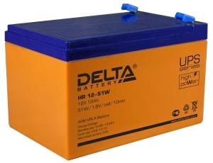 Аккумуляторная батарея Delta HR 12-51 W