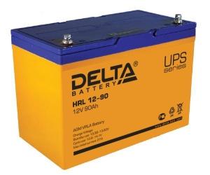 Аккумуляторная батарея Delta HRL 12-90