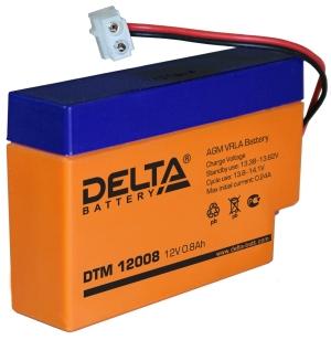 Аккумуляторная батарея Delta DTM 12008