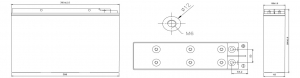 Аккумуляторная батарея CSB TPL 121000T