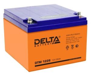 Аккумуляторная батарея Delta DTM 1226