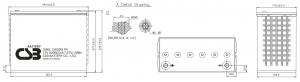 Аккумуляторная батарея CSB XHRL 12620