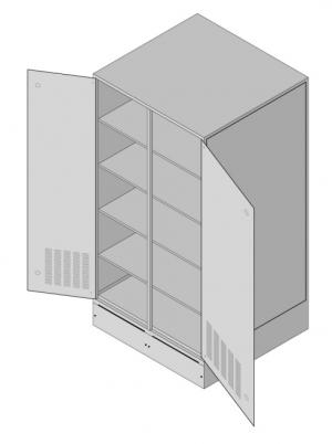 Батарейный кабинет DELTA D-12SA
