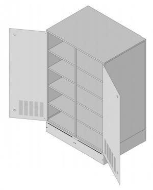 Батарейный кабинет DELTA D-12SU