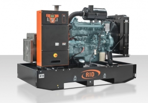 Дизель-генератор RID 130 B-series открытый 3ф 125кВА/100кВт