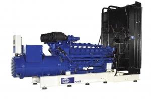 Дизель-генератор FG Wilson P2000-1 открытый 3ф 1850кВА/1480кВт