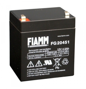 Аккумуляторная батарея 12В 4,5 Ач FIAMM FG series