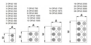 Аккумуляторная батарея 2В 1000 Ач FIAMM LM OPzS