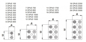 Аккумуляторная батарея 2В 3500 Ач FIAMM LM OPzS