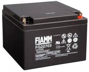 Аккумуляторная батарея 12В 27 Ач FIAMM FG series