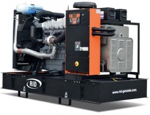Дизель-генератор RID 200 V-series открытый 3ф 200кВА/160кВт