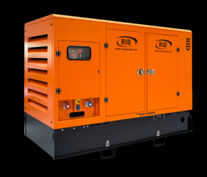 Дизель-генератор RID 350 G-series S в кожухе 3ф 350кВА/280кВт