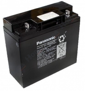Аккумуляторная батарея 12В 17Ач Panasonic LC-XD1217P (XD1217PG)