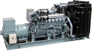 Дизель-генератор СТМ М.1900 открытый 3ф 1900кВА/1520кВт