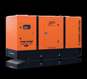 Дизель-генератор RID 250 S в кожухе 3ф 250кВА/200кВт