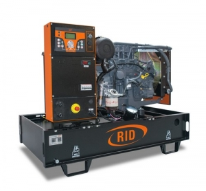 Дизель-генератор RID 10 E-series открытый 3ф 10кВА/8кВт