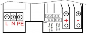 Преобразователь-конвертор DC/DC BIR Flatpack2 DC HV 220/220 5A