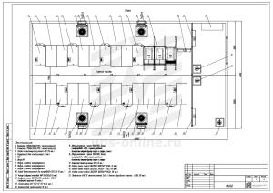 Контейнерный модуль 2X центра обработки данных двухсекционный МЦОД BIR
