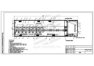 Контейнерный модуль центра обработки данных двухсекционный МЦОД BIR 90кВт