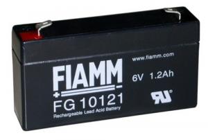 Аккумуляторная батарея 6В 1.2 Ач FIAMM FG series