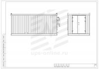 Блок-контейнер с ДГУ BIR-ЭМД-5