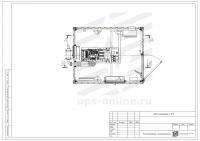 Блок-контейнер с ДГУ BIR-ЭМД-3