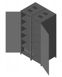 Батарейный кабинет DELTA DL-150