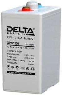 Аккумуляторная батарея Delta OPzV 200