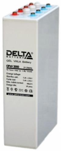 Аккумуляторная батарея Delta OPzV 2000