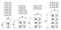 Аккумуляторная батарея 2В 3000 Ач FIAMM LM OPzS