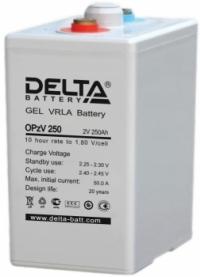 Аккумуляторная батарея Delta OPzV 250