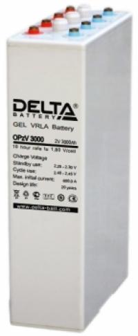 Аккумуляторная батарея Delta OPzV 3000