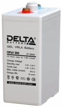 Аккумуляторная батарея Delta OPzV 300