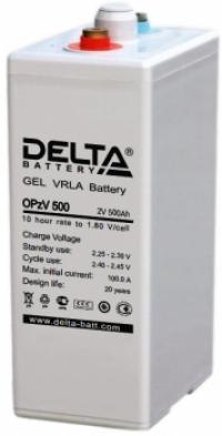 Аккумуляторная батарея Delta OPzV 500