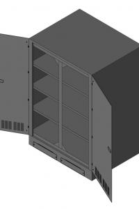 Батарейный кабинет DELTA DL-55