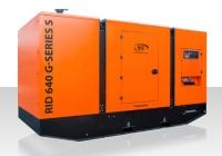 Дизель-генератор RID 600 G-series S в кожухе 3ф 600кВА/480кВт