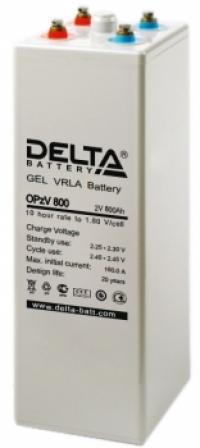 Аккумуляторная батарея Delta OPzV 800