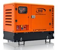 Дизель-генератор RID 8 E-series S в кожухе 3ф 8.0кВА/6.4кВт