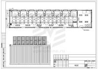 Контейнерный модуль центра обработки данных двухсекционный МЦОД BIR 98кВт