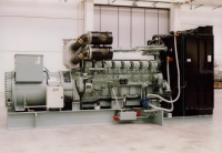 Дизель-генератор СТМ М.780 открытый 3ф 780кВА/624кВт