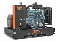 Дизель-генератор RID 130 S открытый 3ф 130кВА/104кВт