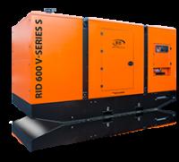 Дизель-генератор RID 600 V-series S в кожухе 3ф 600кВА/480кВт