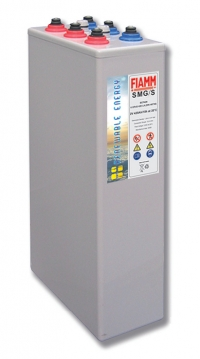 Аккумуляторная батарея 2В 2600 Ач FIAMM SMG Solar OPzV