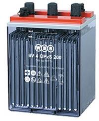 Аккумуляторная батарея WBR 6V 5 OPzS 250